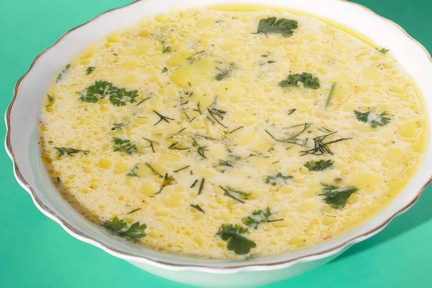 Сырный суп рецепт с плавленным сыром и курицей рисом с пошагово в